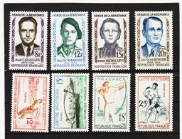 LKA195 FRANKREICH 1958 Michl 1193/00 ** Postfrisch SIEHE ABBILDUNG - Frankreich