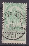 N° 56 HAMME MILLE - 1893-1907 Stemmi