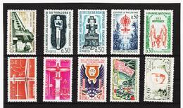 LKA198 FRANKREICH 1962 Michl 1389/98 ** Postfrisch SIEHE ABBILDUNG - Ungebraucht