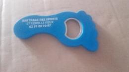 Aimant De Frigo Decapsuleur Pied Bleu Bar Tabac - Magnets