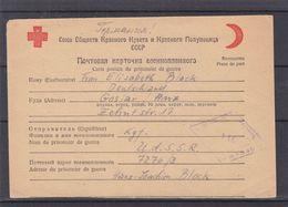 Croix Rouge - Russie - Carte Postale Du Prisonnier De Guerre De 1949 - Exp Vers Goslar - Avec Censure - 1923-1991 USSR