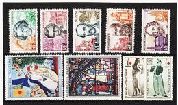 LKA199 FRANKREICH 1963 Michl 1432/36 + 1452/55 ** Postfrisch SIEHE ABBILDUNG - Ungebraucht