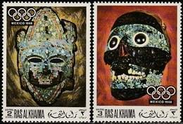 Ras Al-Khaima 1969, Olympic Games Mexico City (MNH, **) - Ete 1968: Mexico