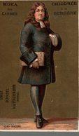 CHROMO CHICOREE A LA BERGERE EMILE BONZEL HAUBOURDIN  RACINE - Trade Cards