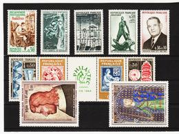 LKA201 FRANKREICH 1964 Michl 1461/70 +1487 ** Postfrisch SIEHE ABBILDUNG - Ungebraucht
