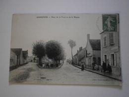 45 Dordives, Place De La Poste Et De La Mairie (1212) - Dordives