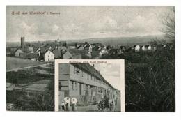 Gruss Aus Walsdorf I. Taunus - Gasthaus Von Karl Stubig & Vue Générale - Circulé 1919, Sous Enveloppe - Allemagne