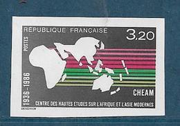 France Timbres De 1986  N°2412a  Non Dentelé Neufs ** Gomme Parfaite - Francia