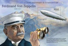 Central Africa  2013 Ferdinand Von Zeppelin  ,airship - Central African Republic