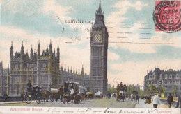 London (Angleterre) - Westminster Bridge - London