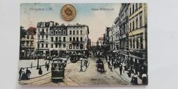 Königsberg In Preussen, Kaiser Wilhelmsplatz, Strassenbahn, 1910 - Danzig