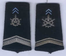 Manchons D'Epaulettes Du Service Du Matériel - Equipement