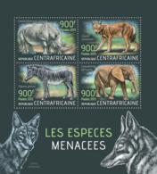 Central Africa  2013 Fauna  – Endangered Animals, Rhino, Zebra , Elephant - Central African Republic