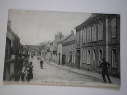80 Flixecourt, La Rue Thiers (1220) - Flixecourt