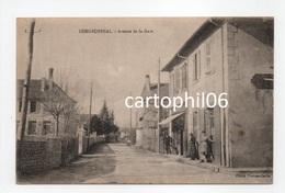 - CPA LONGECHENAL (38) - Avenue De La Gare 1918 (avec Personnages) - Cliché Thomas-Carlin - - Autres Communes