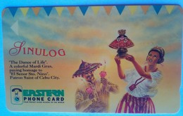 Eastern Telecom 150 Units 76PETB   Sinulog - Philippines