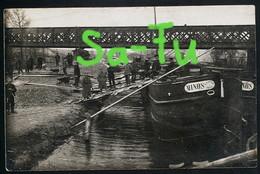 AK/CP 1. WK Vadencourt  Kanalentladestelle  Guise    Ungel/uncirc. 1914-18   Erhaltung/Cond. 2/2-  Nr. 00720 - Guise