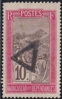 Madagascar 1908-1939 - Marque Triangle Sur N° 98 (YT) N° 106 (AM). - Madagascar (1889-1960)