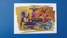 Catherine Gallian Saint-Clair : Fruits De Mer Caraibe - Peintures & Tableaux