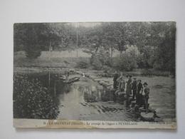 34 La Salvetat, Le Passage De L'Agout à Peyrelade (1222) - La Salvetat
