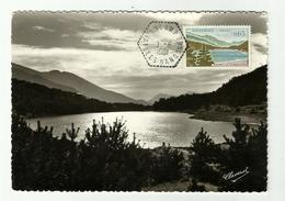 Carte Maximum ENCAMP Vallées D'Andorre De 1961 - Cartoline Maximum