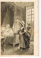 Petit Almanach Pour 1914 -Pub Bonneterie Chevalier-Lyon -Format 3,5 X 5 Cm -4 Scans-Paypal Sans Frais - Calendars