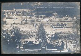 AK/CP 1. WK Argonnen  Argonnenbahn  Kronprinz Wilhelm    Gel/circ. 1915   Erhaltung/Cond. 1-/2  Nr. 00722 - France