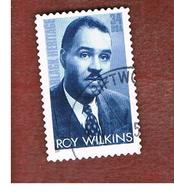 STATI UNITI (U.S.A.) - SG  3899  - 2001 BLACK HERITAGE: R. WILKINS, CIVIL RIGHTS PIONEER - USED - Used Stamps