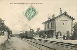 18 Henrichemont : La Gare Train - Henrichemont