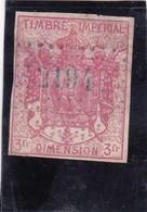 T.F Dimension N°11 - Revenue Stamps