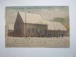 Borne (Uelzen), Gasthof ,Schöne Karte Um 1922 - Uelsen