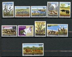 Rwanda, Yvert 98/107, Scott 99/108, MNH - Rwanda