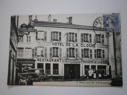 88 Epinal. Hotel De La Cloche. Carte Rare Et Inédite (1248) - Epinal