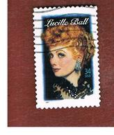 STATI UNITI (U.S.A.) - SG  3992  - 2001  LEGENDS OF HOLLYWOOD: L. BALL    - USED - Used Stamps