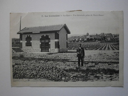 34 La Livinière, La Gare. Vue Générale Prise De Notre Dame. Voir Description (1251) - France