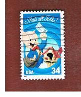 STATI UNITI (U.S.A.) - SG  4003  - 2001 CARTOONS: PORKY PIG    - USED - Used Stamps
