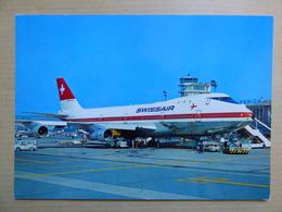 AEROPORT / AIRPORT / FLUGHAFEN     ZURICH KLOTEN   747 SWISSAIR - Aerodromes