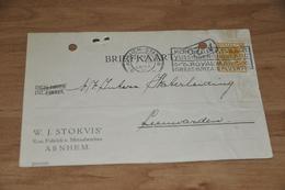 35-   W.J. STOKVIS, ARNHEM - 1925 - Andere