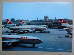 AEROPORT / AIRPORT / FLUGHAFEN     ZURICH KLOTEN   B 720 MEA - Aerodromes
