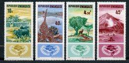 Rwanda, Yvert 118/121, Scott 126/129, MNH - Rwanda