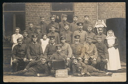 AK/CP 1.WK  Jüchen  Lazarett  Rheydt    Ungel/uncirc. 1917   Erhaltung/Cond. 2  Nr. 00729 - Allemagne