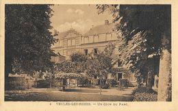 Veules-les-Roses - Un Coin Du Parc - Edition Du Grand Hôtel Des Bains Et De La Plage - Carte N° 3 - Veules Les Roses