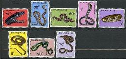 Rwanda, Yvert 191/198, Scott 194/201, MNH - Rwanda