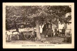 83 - SOLLIES-TOUCAS - ATELIER DE DISTILLERIE - ALAMBIC - Autres Communes