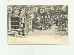 ALLEMAGNE - WARNEMUNDE - Beim Schweizerhaus Exterieur Café Animé Avec Lampions Bon état - Germany