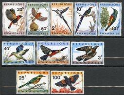 Rwanda, Yvert 233/242, Scott 239/248, MNH - Rwanda
