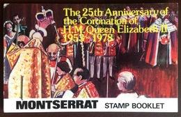 Montserrat 1978 Coronation Anniversary Booklet Unused - Montserrat