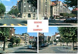 N°72021 GF-cpsm Champigny Sur Marne -souvenir -vue Générale Des Cités- - Champigny Sur Marne