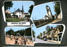 N°72024 GF-cpsm Champigny Sur Marne -multivues- - Champigny Sur Marne