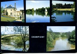 N°72027 GF-cpsm Champigny Sur Marne -multivues- - Champigny Sur Marne